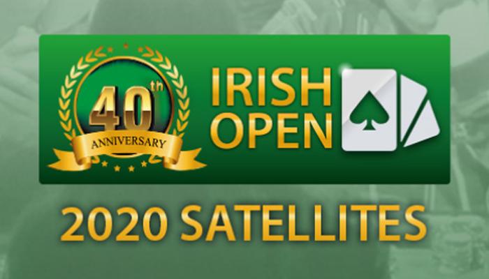 Irish Poker Open 2020 Satellites