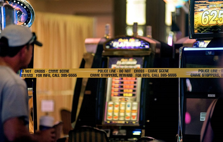 В казино Лас-Вегаса преступление