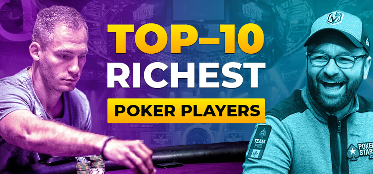Top 10 richest poker players