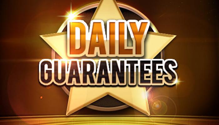 Ивенты серии Daily Guarantees