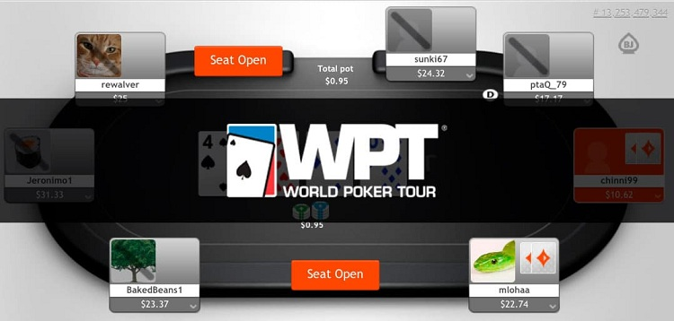 WPT at PartyPoker