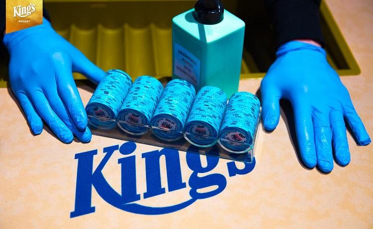 King's Casino коронавирус
