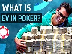 What is EV in poker?
