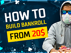 Is it possible to start a poker bankroll from $20?