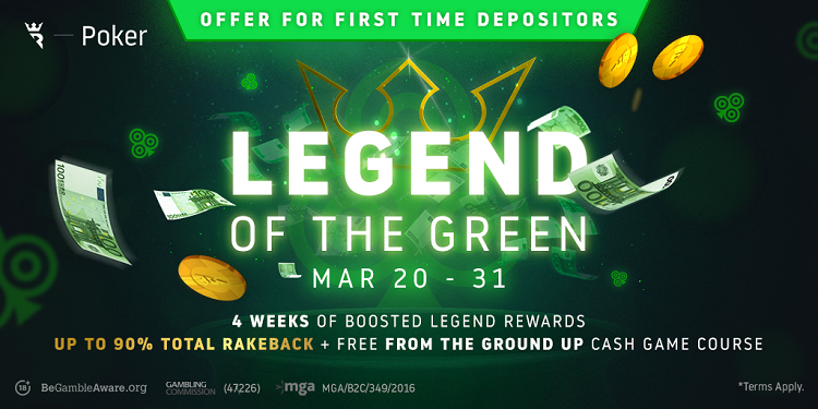 "Run It Once Poker ""Legend of the Green"""