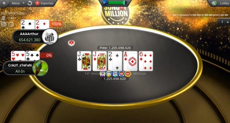 AAAArthur won Sunday Million 2020