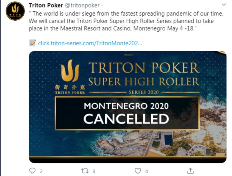 Triton Poker's post