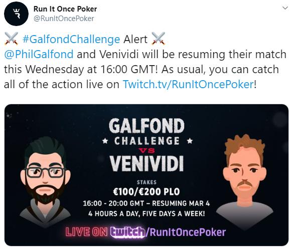 Run It Once Poker