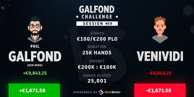 Galfond Challenge проти VeniVidi1993