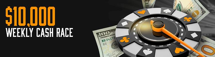 Weekly Cash Race