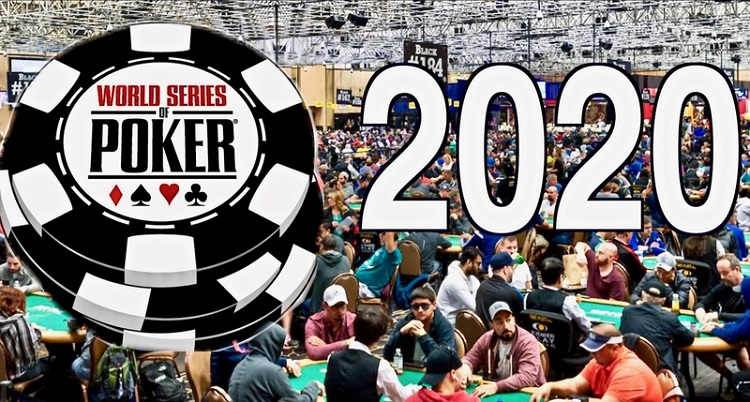 WSOP 2020 was postponed