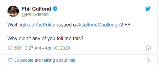 Galfond on twitter