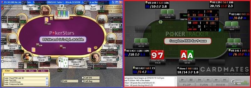 ХАДы для 9 max Покер Трекер