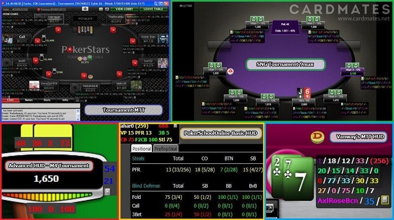 ХАДы для МТТ и SnG Покер Трекер