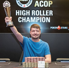 Дмитрий Юрасов – чемпион турнира хайроллеров ACOP 2017