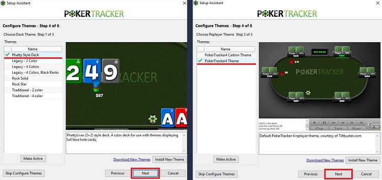 настройка стилей PokerTracker 4