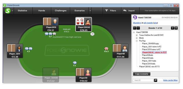Ошибки PokerSnowie