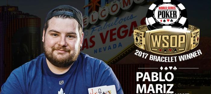 Пабло Мариз – чемпион турнира WSOP Millionaire Maker