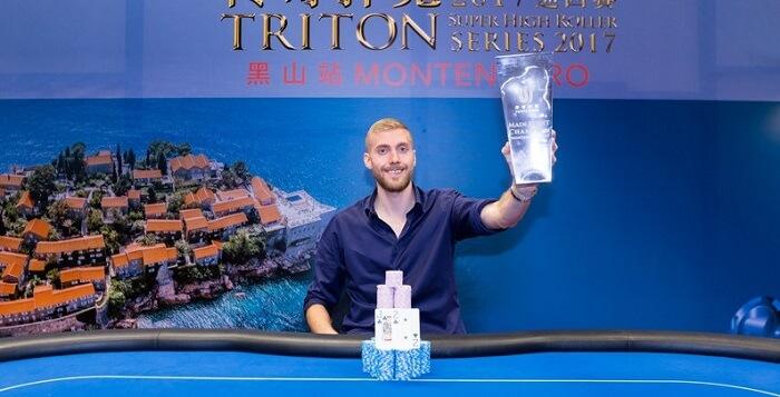 чемпион Triton Super High Roller Series Montenegro