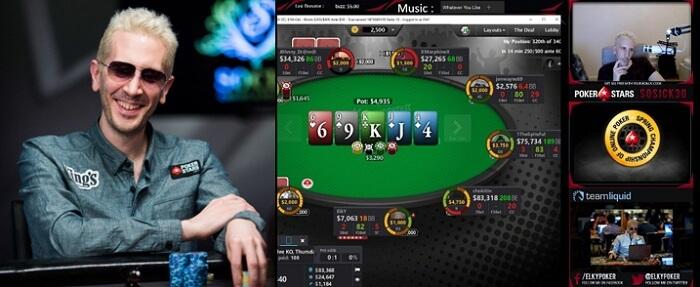 Покерные стримы Элки