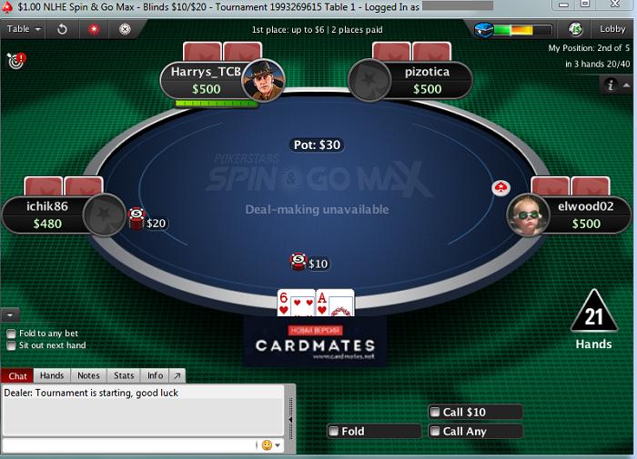 В Spin&Go Max будет больше игроков за столом