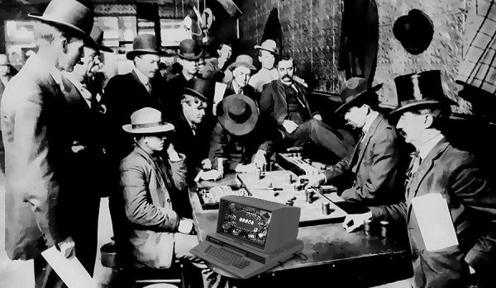 История онлайн-покер