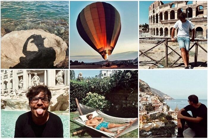 отдых Мустафа Канита в Италии