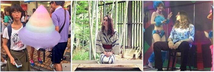 отдых Боэри и Курганова в Японии