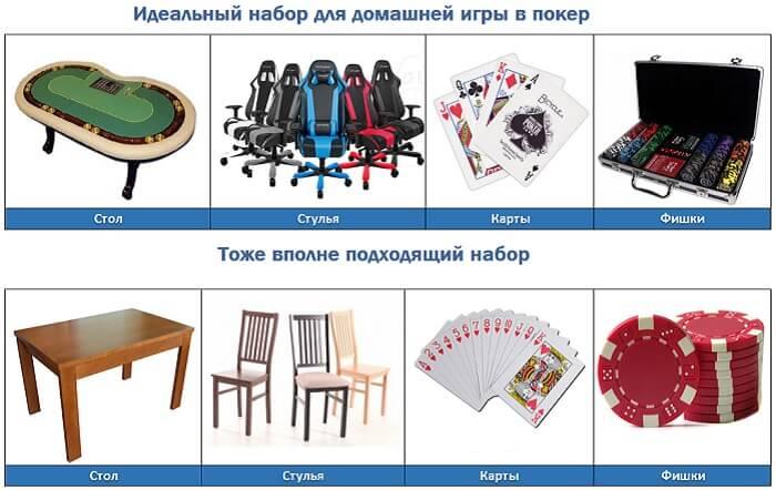 набор для домашнего покера