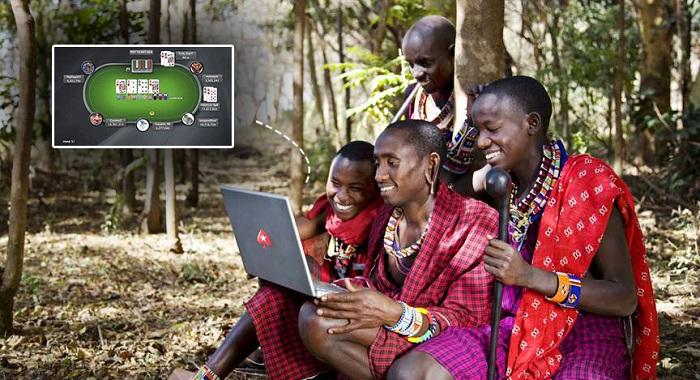 Покер в Африке