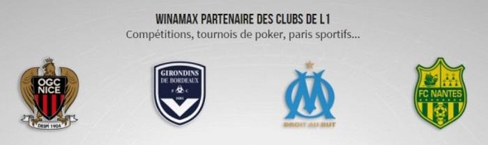 Winamax и французские клубы