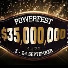 PartyPoker анонсировали турнирную серию Powerfest с гарантией в 35 000 000$