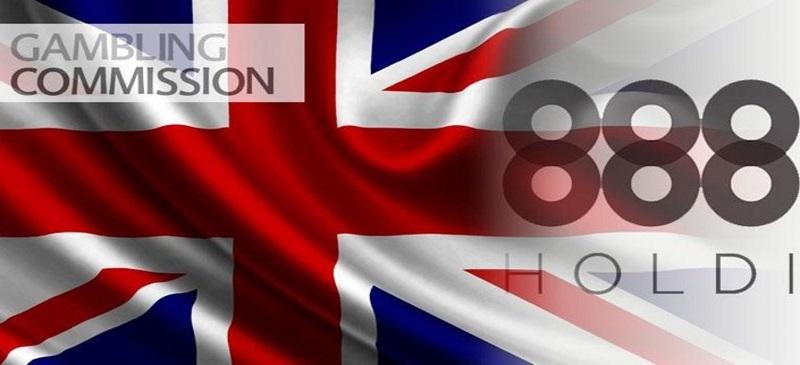 Британская игорная комиссия и 888