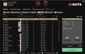Guts Poker capturas de tela