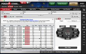 Скриншот PokerStars.eu