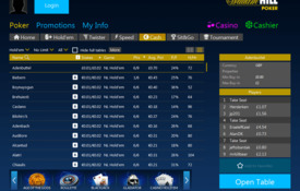 William Hill capturas de tela