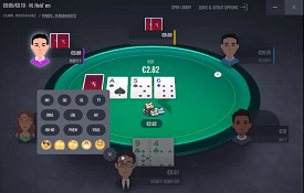 Run It Once Poker capturas de tela