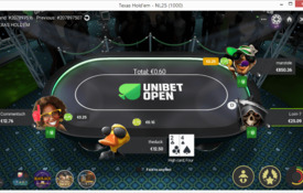 Unibet Poker capturas de tela
