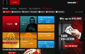 Betsafe Poker capturas de tela