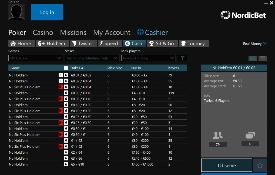 Скриншот NordicBet Poker