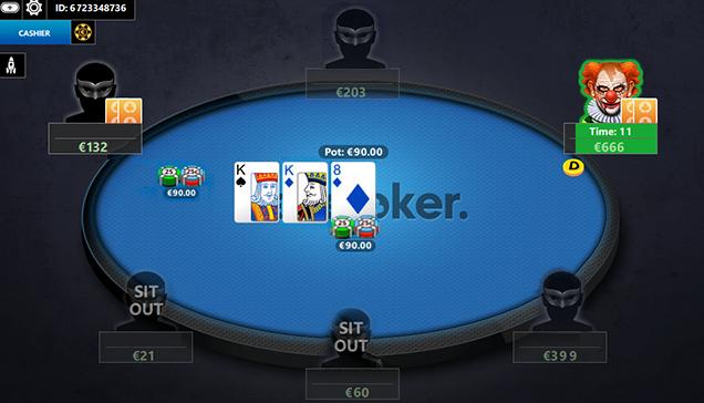 BestPoker poker table