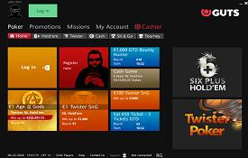 Guts Poker screenshot