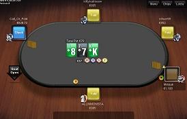 Скриншот Betsson Poker