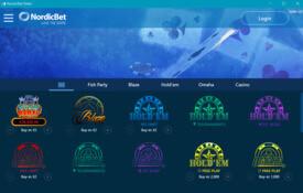 NordicBet Poker screenshot