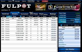 Скриншот Fulpot Poker