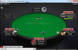 Скриншот PokerStars Sochi