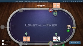 Скриншот Cristal Poker