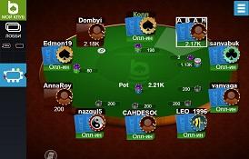 Скриншот MobilePokerClub