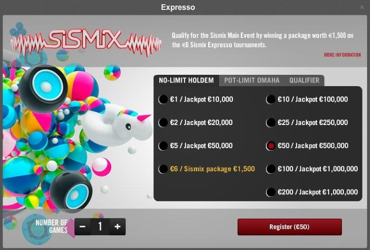 Expresso Winamax Poker