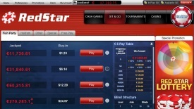 RedStar Poker screenshot